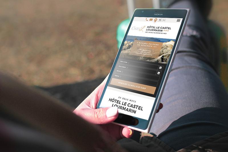 Les sites internet créés par Eskale sont entièrement compatibles avec les smartphones et tablettes