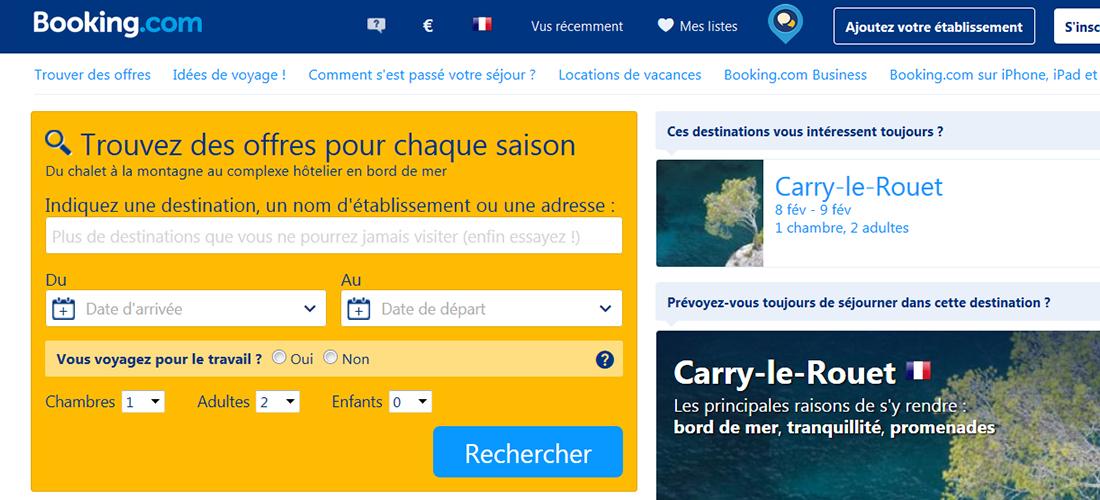 la parité tarifaire sur booking.com en Suisse et en Belgique