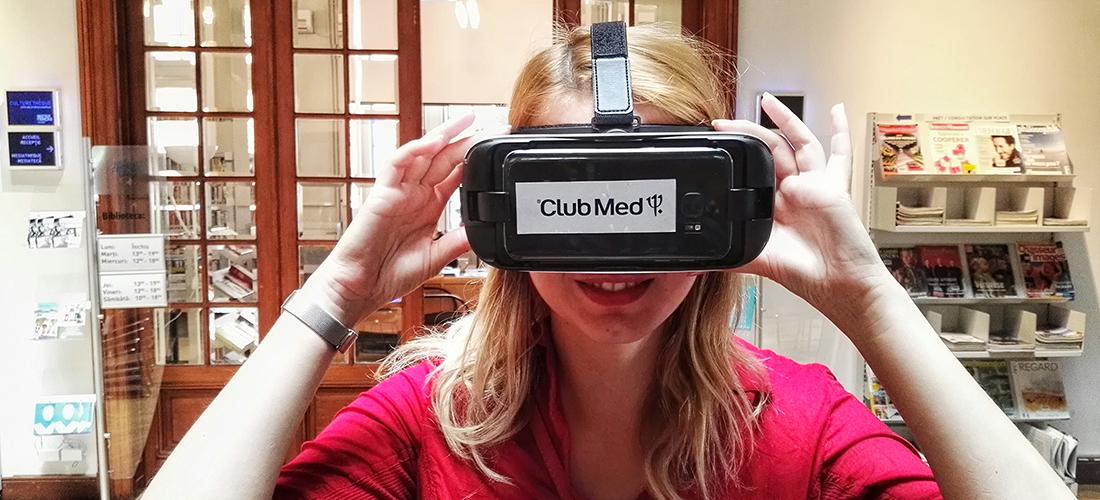 Club Med utilise la Realité Virtuelle pour ses Agences